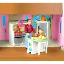 Loving Family Kitchen Furniture My Loving Family Dollhouse Fisher Price Loving Family