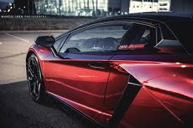 Lamborghini Aventador Chrome - chrome red lamborghini aventador rear side angle sssupersports