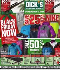 black friday dicksporting goods u0027s sporting goods weekly ad 11 22 11 25 2015 black friday now
