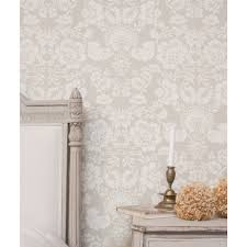 Hand Printed Wallpaper by Baroness Hand Printed Wallpaper Brown U2013 Liefalmont