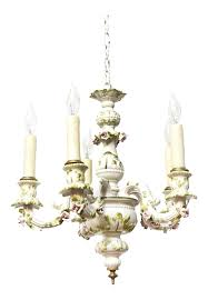 Italian Porcelain Chandelier Appleton Antique Lighting Collection For Sale Chairish