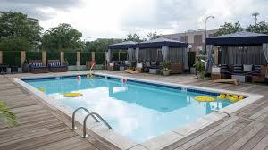 charlotte pool sheraton charlotte hotel