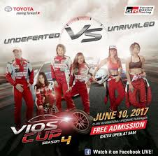 toyota philippines vios toyota ph gears up for 2017 vios cup round 2 on june 10 james deakin