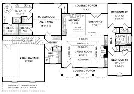 one floor plan house plans with big kitchens large one house plan big kitchen