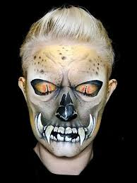 scariest masks make up artist paints the most mind scary masks