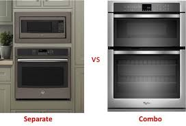 Toaster Oven Microwave Combination Oven Microwave Combo Vs Separate