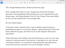 Spreadsheet App For Android Tablet New Google Docs Sheets Apps Aid Mobile Collaboration Tidbits