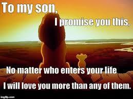 My Son Meme - lion king meme imgflip