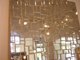 mirrored glass tiles mosaic cabinet hardware room mirrored
