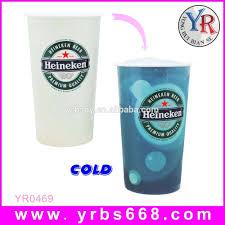water bottle change color temperature pp plastic color changing