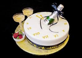 Happy New Year Cake Designs Pictures For New Year 2017