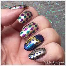 mardi gras nail 46 best mardi gras nail images on nails and