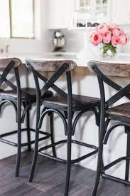 best 25 counter bar stools ideas only on pinterest kitchen tomkat home tour 2016 wood and metal counter bar stools