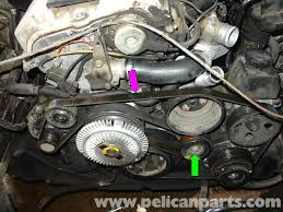 mercedes benz w210 serpentine belt replacement 1996 03 e320
