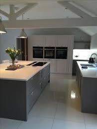 island kitchen units white shaker style kitchen with grey units kitchen decorating