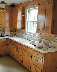 country kitchen remodel ideas a kitchen lightens up kitchens knotty pine and lights