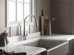 kohler simplice kitchen sink faucet with 16 5 8