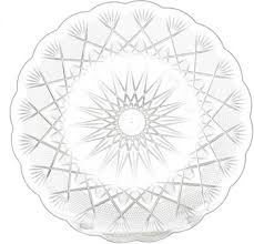 Decorative Plastic Plates Plastic Crystal Plates For Serving From Dubai Buy Disposable