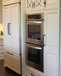 Kitchen Appliance Cabinets by Decor Stainless Steel Mirocwafe Oven Kitchenaid Appliance Package