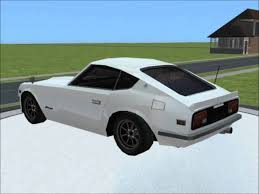 Sims 2 Car Conversion By Vovillia Corp 1974 Nissan Fairlady Z