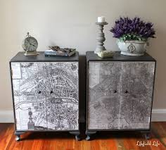 Map Cabinet Lilyfield Life Vintage Paris Map Cabinets