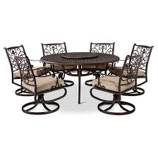 How To Clean Cast Aluminum Patio Furniture Folwell 7pc Cast Aluminum Dining Set Threshold Target