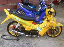 dunia modifikasi motor januari 2014 galeri foto gambar motor modifikasi jupiter paling bagus simpel modifikasi motor yamaha jupiter z cw