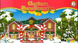 christmas house decoration merry christmas fun christmas game