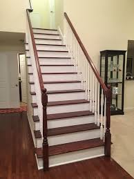 Stairs With Laminate Flooring Custom Staircase With These Easy Steps Armor Tough Coatings