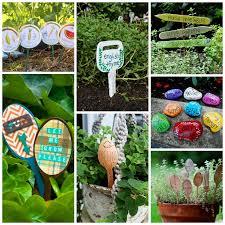 Garden Craft Terra Cotta Marker - diy garden crafts 24 beautiful garden crafts for every age