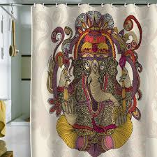 elephant shower curtain home design by ray