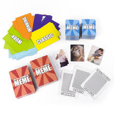 meme hysterical card game toys