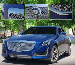 cadillac cts v grill cadillac cts sedan dual weave mesh grille 2014 shopsar com