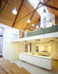 Living Spaces Kitchen Tables by Interiors Glass And Stone Modern Residence Features Mezzanine As