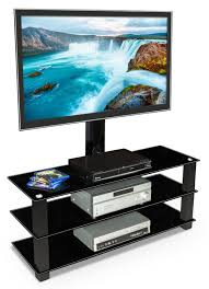 Tv Stands For Flat Screen Tvs Amazon Com Mount It Mi 866 Tv Stand With Mount Entertainment