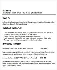 Pharmaceutical Sales Rep Resume Examples by 27 Sales Resume Templates In Pdf Free U0026 Premium Templates