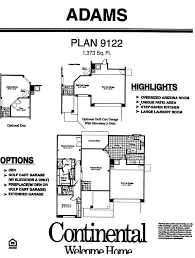 arizona traditions adams floor plan model home plans floorplans