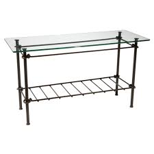 black metal entry table furniture delectable wrought iron entry table metal carehouse info