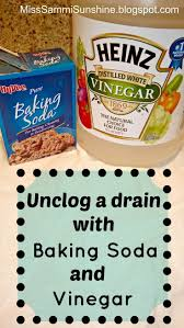 unclogging bathroom sink with vinegar and baking soda dact us