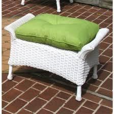 wicker chairs u0026 ottomans outdoor