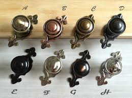 Kitchen Cabinet Door Knobs And Handles Dresser Knob Pulls Handles Black Antique Bronze Silver Nickel