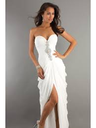 white dresses modest white prom dresses evening party gowns 99901024