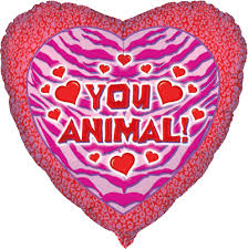 valentines day balloons wholesale 18 you animal heart shape mylar foil balloons