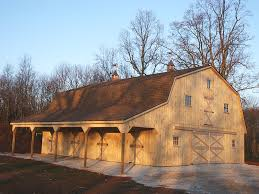 Two Barns House Pole Barn Interior Finishing Pole Buildings Commercial