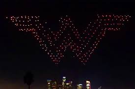 shooting drones light up skies with