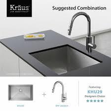 kraus kitchen faucet reviews kraus kpf 2620 mateo single lever pull kitchen faucet