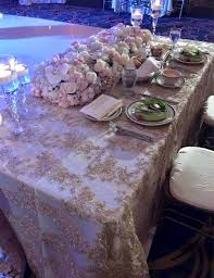 Lace Table Overlays Gold Lace Tablecloth Gold Table Overlay Lace Table Overlay