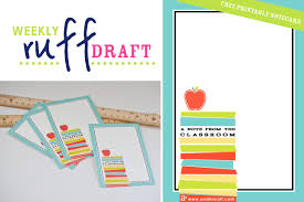 ruff draft back to school gift ideas free printable