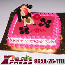 gym theme designer birthday cake online cake delivery u0026 midnight