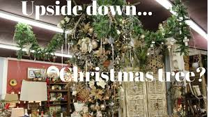 the upside down christmas tree interior homestore sherman tx